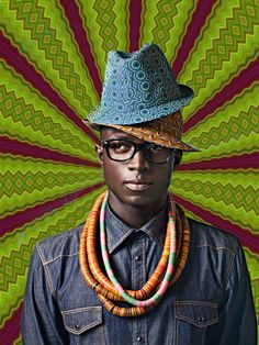 AFRIQUE CHIC by lucile proust, via Behance America has tu chains and Africa got two hats. Are you ready for Africa?