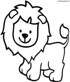Картинки мультяшный лев