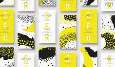branding for Lucia Mishquila Brichta by Santiago Balan Layout Design, Web Design, Creative Design, Print Design, Pattern Design, Design Cars, Create Business Cards, Business Card Mock Up, Business Card Design