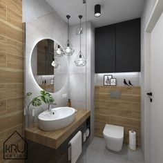 homedecor luxury Kolorystyka w azience Downstairs Bathroom, Bathroom Renos, Bathroom Layout, Small Bathroom, Bathroom Design Luxury, Modern Bathroom Design, Interior Design Kitchen, Wc Design, Toilet Design
