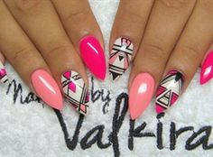Colorful nails by Valkira