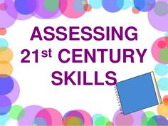 This slideshow is offers another perspective on how to assess beyond the traditional methods. We may know how to include 21st century literacies, but as educators we also must know how to assess these new skills. Assessment should be responsive, flexible, integrated, informative, creative, and using multiple methods. From previous experience assessment FOR learning is an essential tool for educators to evaluate and be flexible for in unit/lesson development.