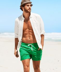HM Green Swim Shorts