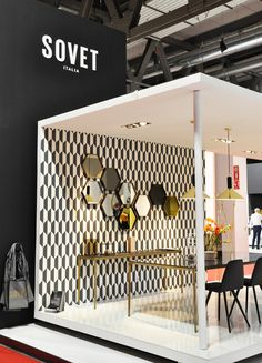 Sovet stand at Salone del Mobile 2017 #design #sovet #sovetitalia #interior #decoration #event #furniture #architecture  #salonedelmobile