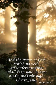 Philippians 4:7 KJV... Peace of God by KellyHeaton
