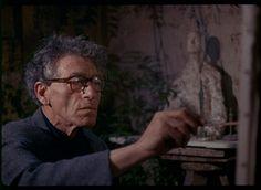 Alberto Giacometti in his Paris studio ca. 1964, Ernst Scheidegger