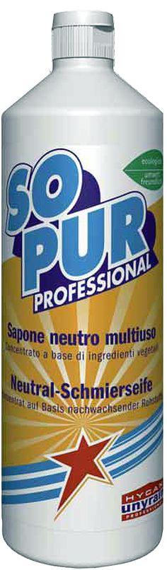 UnyRain Sapone neutro in pasta, detergente concentrato. Lava e pulisce, piastrelle e pavimenti parquet e tutte le superfici.