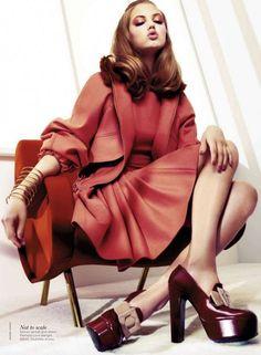 Lindsey Wixson for Vogue Australia #pixiemarket #dress #fashion @pixiemarket