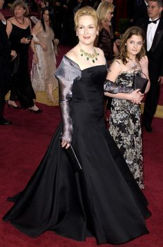 Arriving at the 2003 Academy Awards