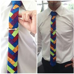 An exclusive acid tie.