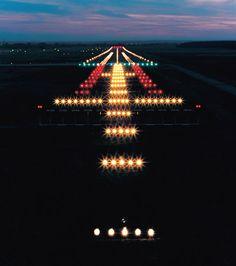 Runway approach lighting