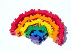 Lego pants rainbow