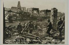 Der Wiederstand der stark befestigten Westerplatte wird gebrochen