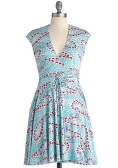 On the Up and Upstream Dress ~ Mod Cloth