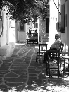 Paros, Greece by Laura Pelttari. Paros Greece, Greece Photography, Greek Life, Sandy Beaches, Greek Islands, Taking Pictures, Travel Pictures, Old Photos, Earth