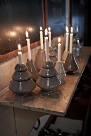 'Avvento' candle holders