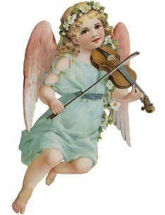 Cherub and Violin