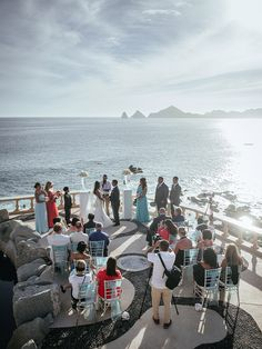 Sunset Wedding Ceremony @ Cabo San Lucas Picture by www.mattshumate.com