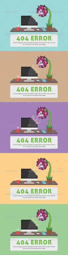Carnivorous Plant 404 ERROR Web Page - 404 Pages Web Elements Download here : https://graphicriver.net/item/carnivorous-plant-404-error-web-page/3439242?s_rank=190&ref=Al-fatih