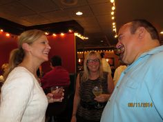 Bob, Sally and Bob's friend, Donna @ Bob's birthday party.