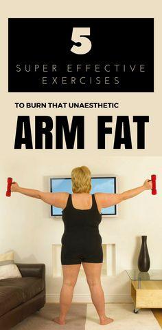 5 Super Effective Exercises to Burn That Unaesthetic Arm Fat