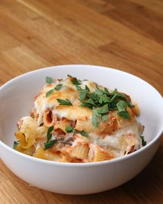 Sausage Rigatoni Bake | This Easy Sausage Rigatoni Bake Will Last You The Whole Week
