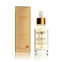 Snazii 30ml 24k Pure Gold Foil Essence Moisturizing Anti-Aging Remove Acne Anti-redness Hyaluronic Acid Whitening Face Cream
