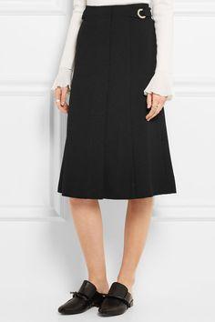 Proenza Schouler   Pleated crepe skirt   NET-A-PORTER.COM