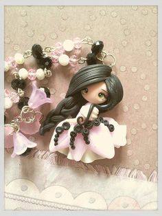 rose doll clay by lapetitedeco on Etsy