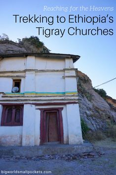 Visiting Ethiopia's Tigray Churches requires nerves of steel & all the adrenaline you can muster, but trust me, this breathtaking destination is worth it! Ethiopia Travel, Africa Travel, Travel Tips, Travel Plan, Travel Articles, Travel Advice, Travel Ideas, Safari, Adventures Abroad