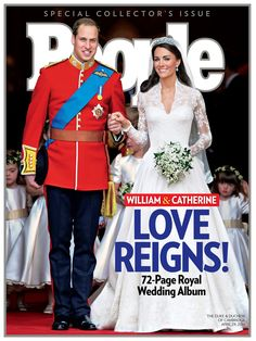 Take a look back at PEOPLE's 2011 cover story about the royal wedding