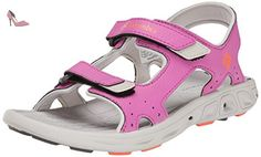 Columbia Techsun Vent, Chaussures Multisport Outdoor mixte enfant, Rose (665), 35 EU (3 UK) - Chaussures columbia (*Partner-Link)