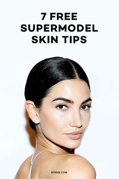 Skincare tips that models swear by