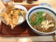 Tendon & Soba. #Japan #food