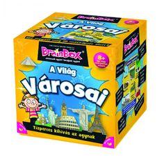 BrainboxA VILÁG VÁROSAI, egyedüli- vagy társasjáték 8 éves kortól - Brainbox