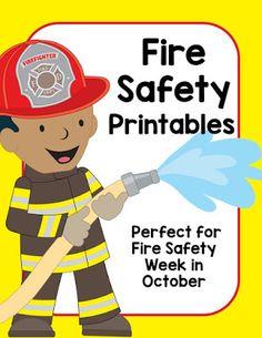 Fire Safety Activities for Preschool