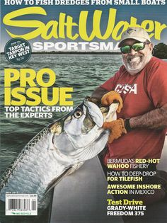 4601bfcc62f Saltwater Sportsman fishing magazine Pro issue Small boats and dredges Wahoo