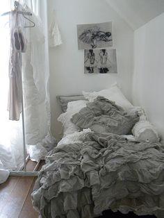 Gray and white Love