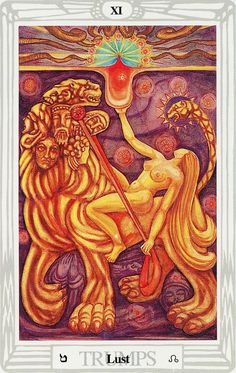 Venus In Leo, All Tarot Cards, Aleister Crowley, Esoteric Art, Like A Lion, Lust For Life, Angels And Demons, Oracle Cards, Tarot Decks
