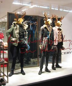 deer doing fashion