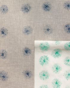 Use everyday objects like buttons and string to make graphic and beautiful block-printed fabrics and papers.