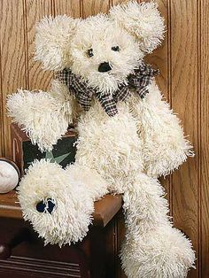 Ravelry: Rags - A Teddy Bear pattern by Paula Young