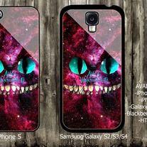 Catshire Smile Nebula iPhone 4 / 4S case iPhone 5 case Samsung Galaxy S2 case Samsung Galaxy S3 / S4 case