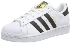 adidas Originals Superstar, Unisex-Kinder Sneakers, Weiß (Ftwr White/Core Black/Ftwr White), 38 EU (5 Kinder UK)