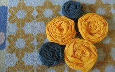 Aprende a hacer rosas de tela2