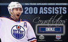 Jordan Eberle, Edmonton Oilers • December 8, 2016 • NHLTrunk.com