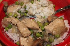 Chicken Ala King- dairy-
