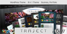 Traject - WordPress Portfolio and Business Theme WordPress / Corporate / Marketing by Parallelus