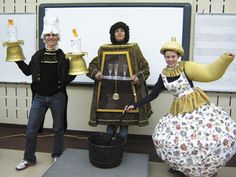 "London High School stages ""Beauty and the Beast"" - Columbus Messenger---possibly for Cogsworth"