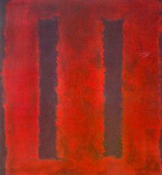 1949-1970 ELS ANYS CLÀSSICS, Mark Rothko, bocet per a mural Seagram, 1958. EXPRESSIONISME ABSTRACTE.